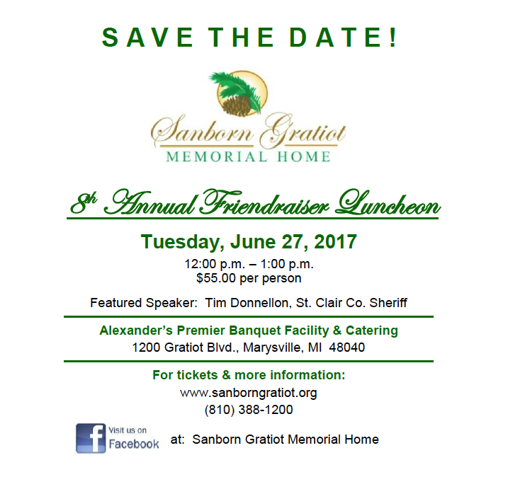 2017 Lunch Save Date